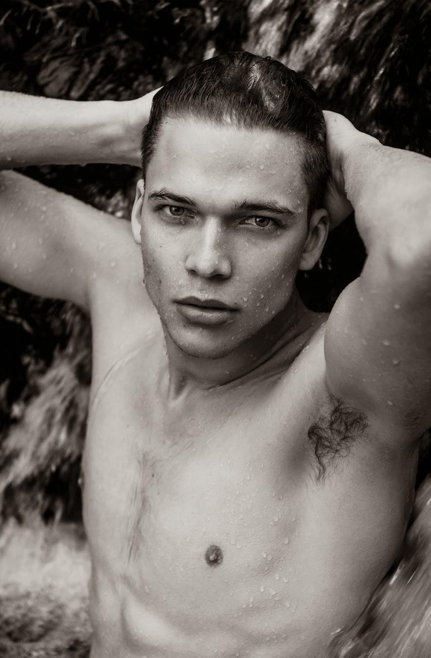 """Hungarian model <b>Adam Varga</b> at I LOVE Management by Olivier Yoan. - AdamVarga-Homotography-OlivierYoan-04"