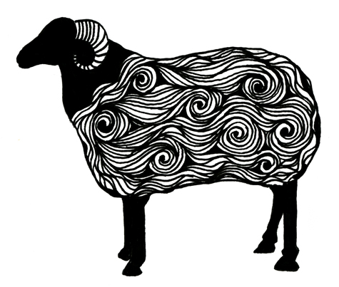 Sloe gin fizz black sheep in the family for Black sheep tattoo