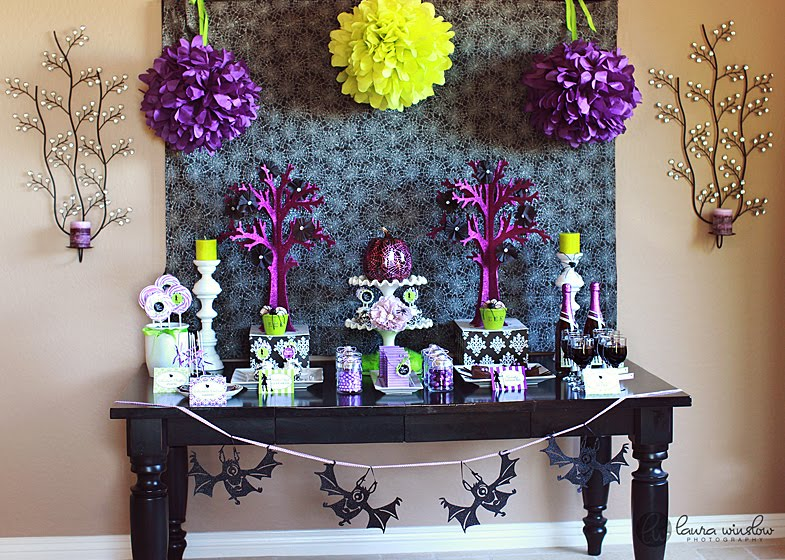 this was such a fun fabulous table to put together i wanted to create something unique this halloween season on top of our more traditional kidfriendly