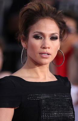 Jennifer Lopez Diamond Hoops