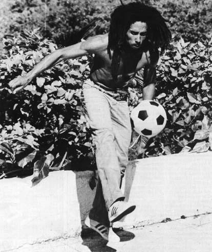 bob marley soccer quotes. Bob was an avid soccer player