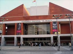 Enlace Web Auditorio Nacional de Música