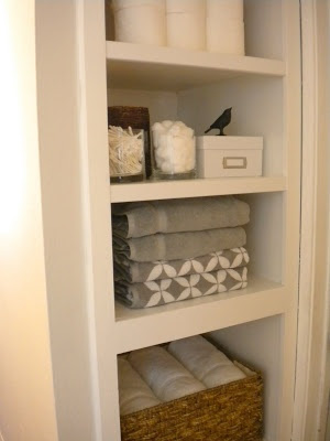 The Makings of Our Linen Cabinet