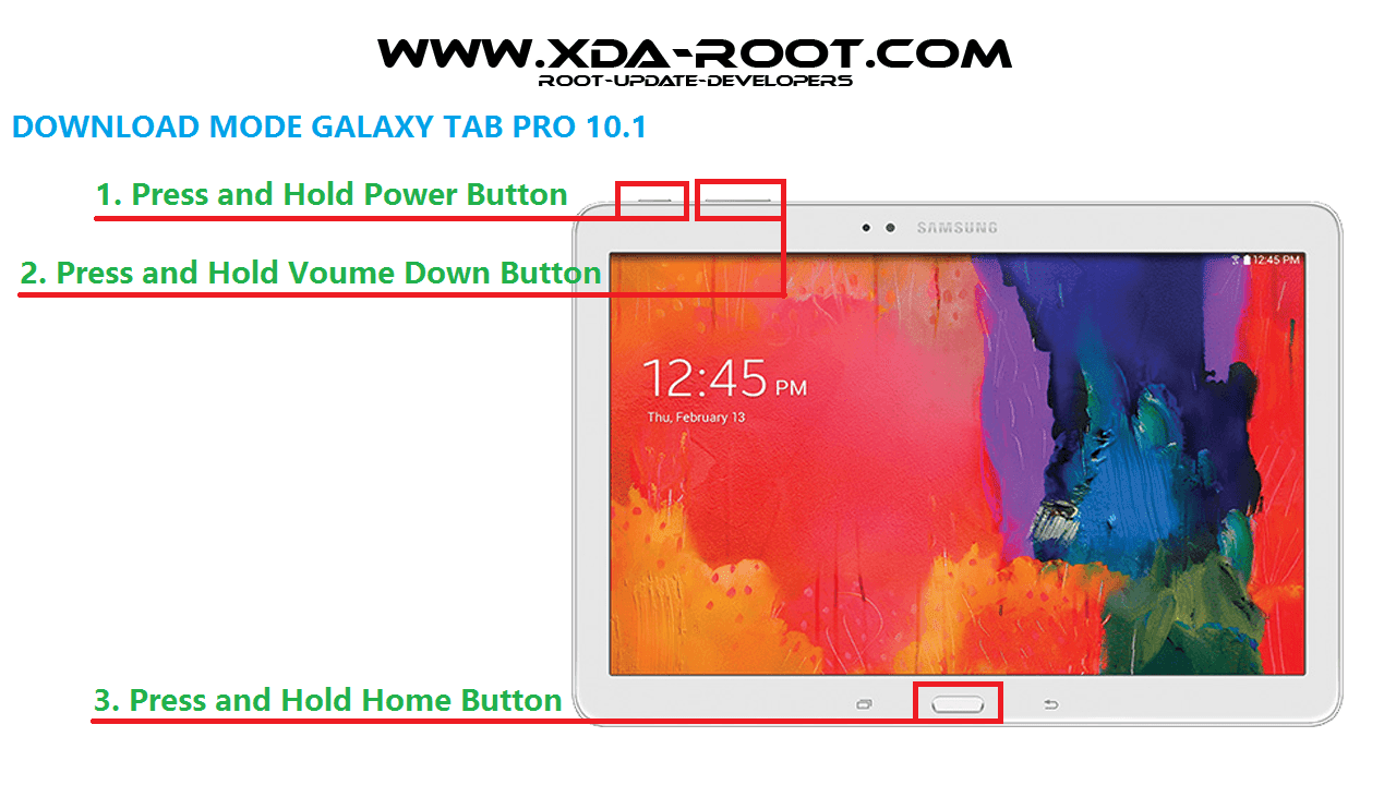 DOWNLOAD MODE GALAXY TAB PRO 10.1 T520