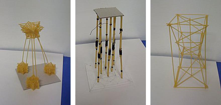 Célèbre Premières Arts Appliqués 2011: Construction d'une tour en spaghettis DZ29
