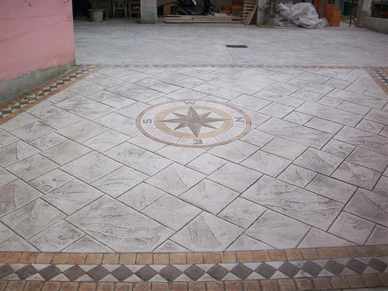 Hormigon impreso sax cemento impreso sax for Suelo cemento impreso
