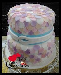 Wedding cake~fondant 2