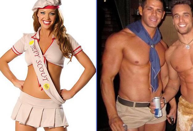 costume scout homme et femme