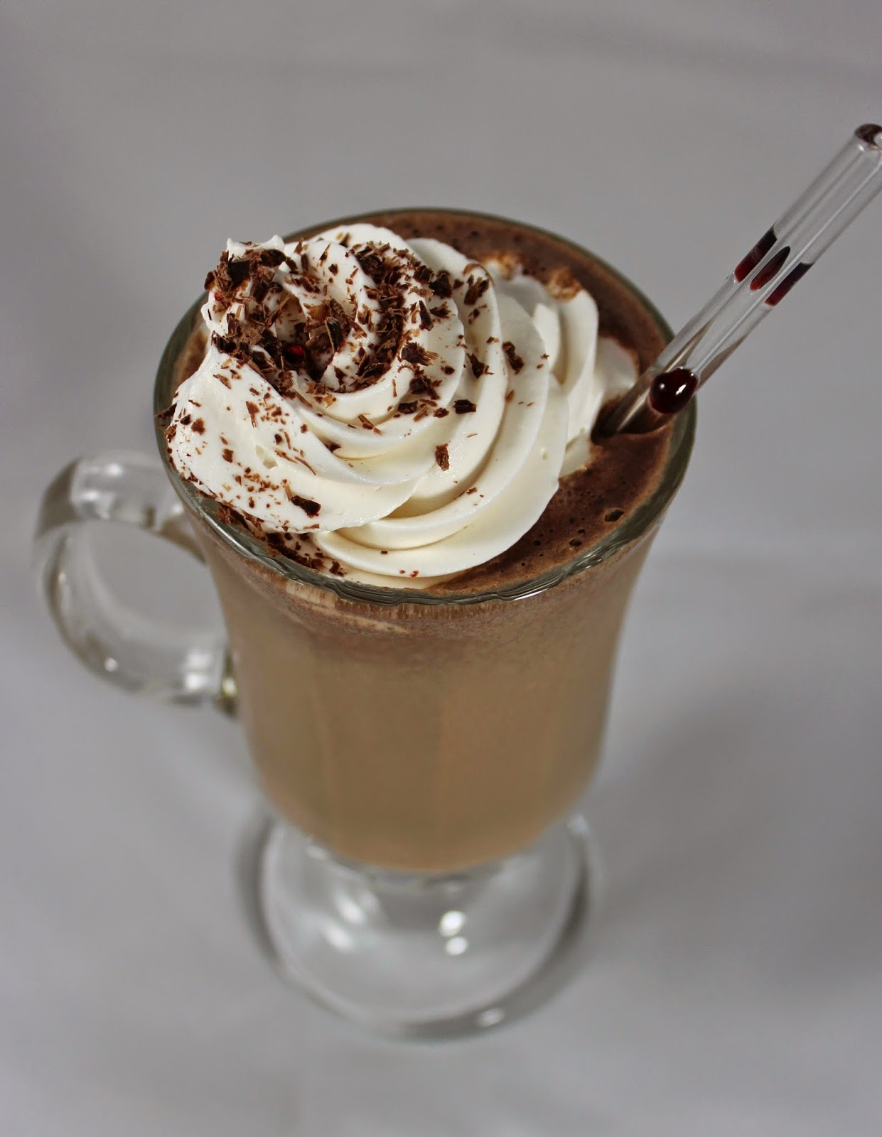 it's time for a mocha frappe!