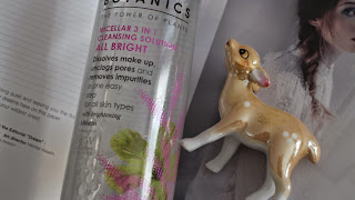 Boots, Boots skincare, Botanics skincare, Micellar water, Highstreet skincare, Review, Skincare Review