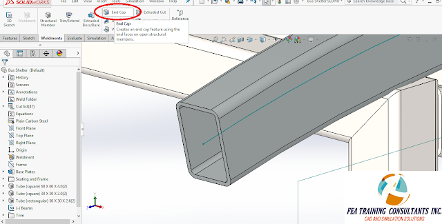 new to solidworks weldments 2016