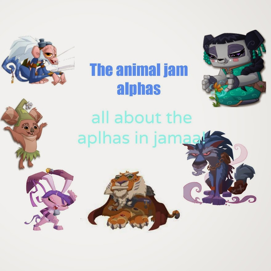 The Animal Jam Alphas