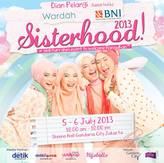 Fashionholic Sisterhood Dan Fashion Show Dian Pelangi