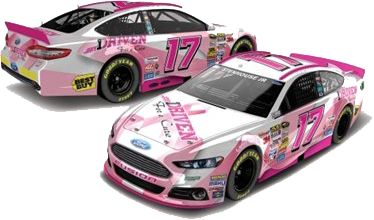 "Ricky Stenhouse Jr ""Paint the Track Pink"" #17"