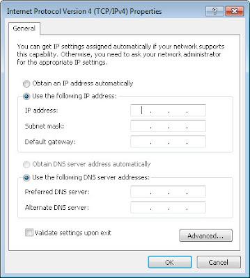 cara membuat jaringan komputer