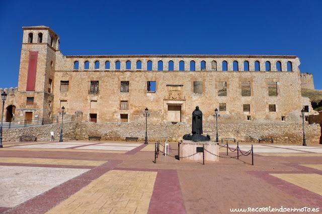 fachada del Palacio de los Marqueses de Berlanga