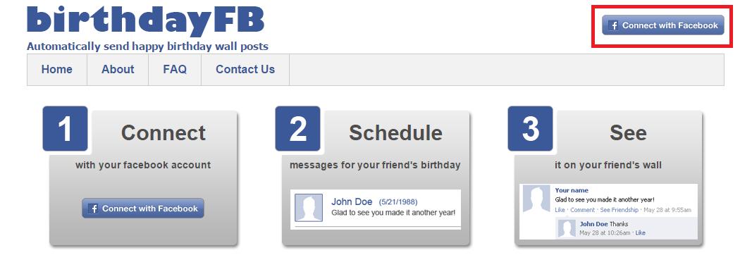 Cara Memberi ucapan Selamat Ulang Tahun Otomatis di Facebook
