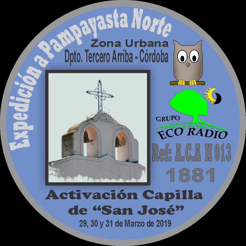 PIN Expedición Capilla de San José A.C.A. H 0013