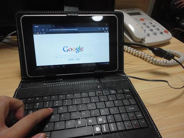 Tablet libre android barata funda teclado