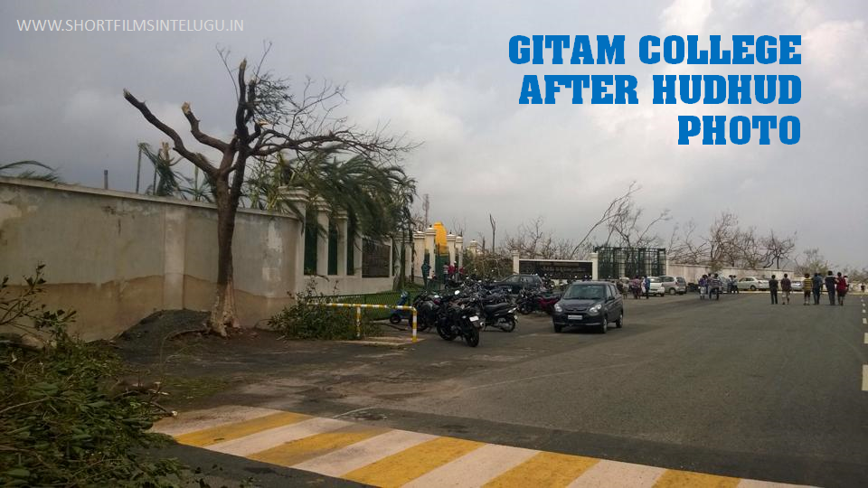 GITAM COLLEGE AFTER HUHUD PICS IMAGES PHOTOS NEW OCT 2014