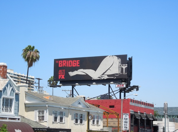 The Bridge legs billboard