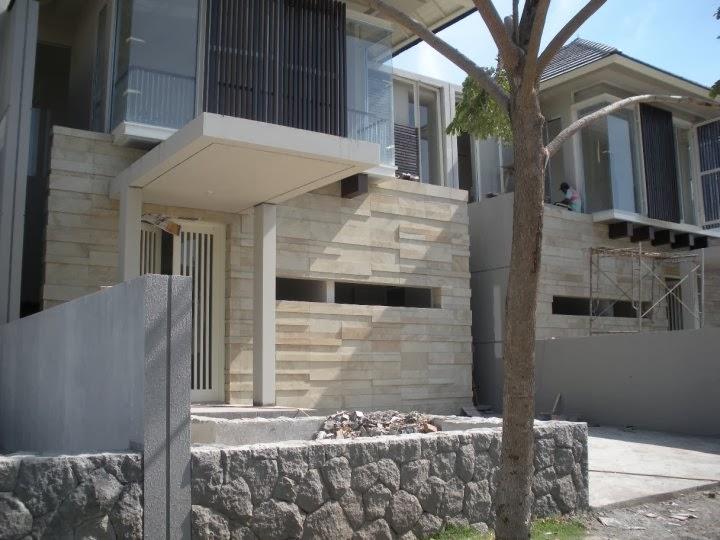 dimana batu alam ditempel di rumah anda secara tepat