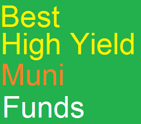 Best Performing High Yield Muni Closed End Funds 2014