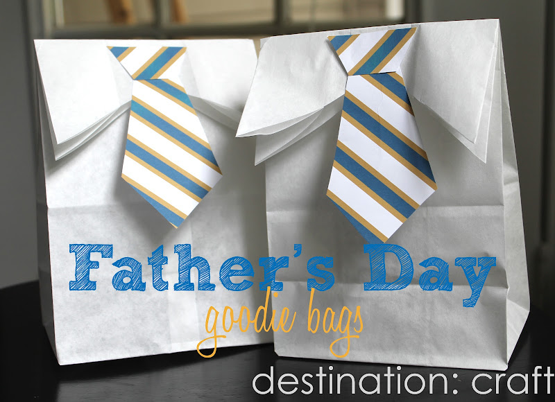 Destination craft father s day goodie bags