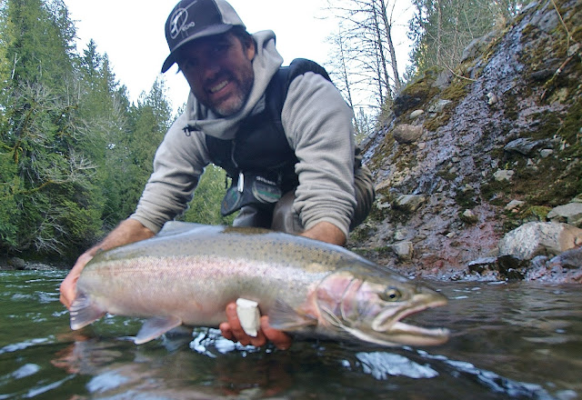 Fly fish oregon water time report sandy river fishing for Trask river fishing report