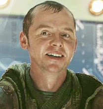 The new Scotty: Simon Pegg