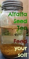 Sprouting alfalfa? Save that water.