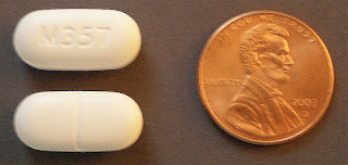 Hydrocodone/paracetamol tablets