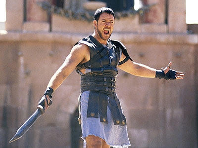 gladiator maximus screaming