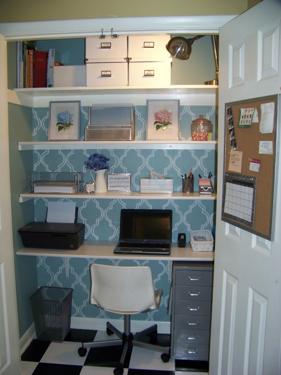 Making It Too Perfect: Condensing our Giant Messy Home Office into ...