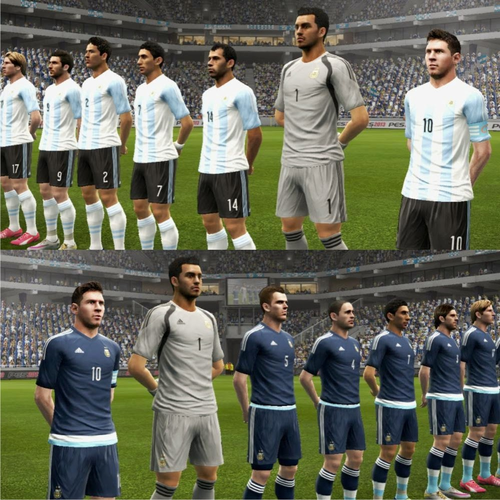 PES 2013 Argentina 2015 [Update 1] GDB KIts by Codiletser