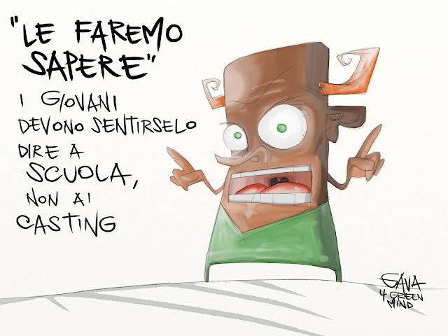 gavavenezia gava vignette scuola giovani le faremo sapere ridere pensare cartoon