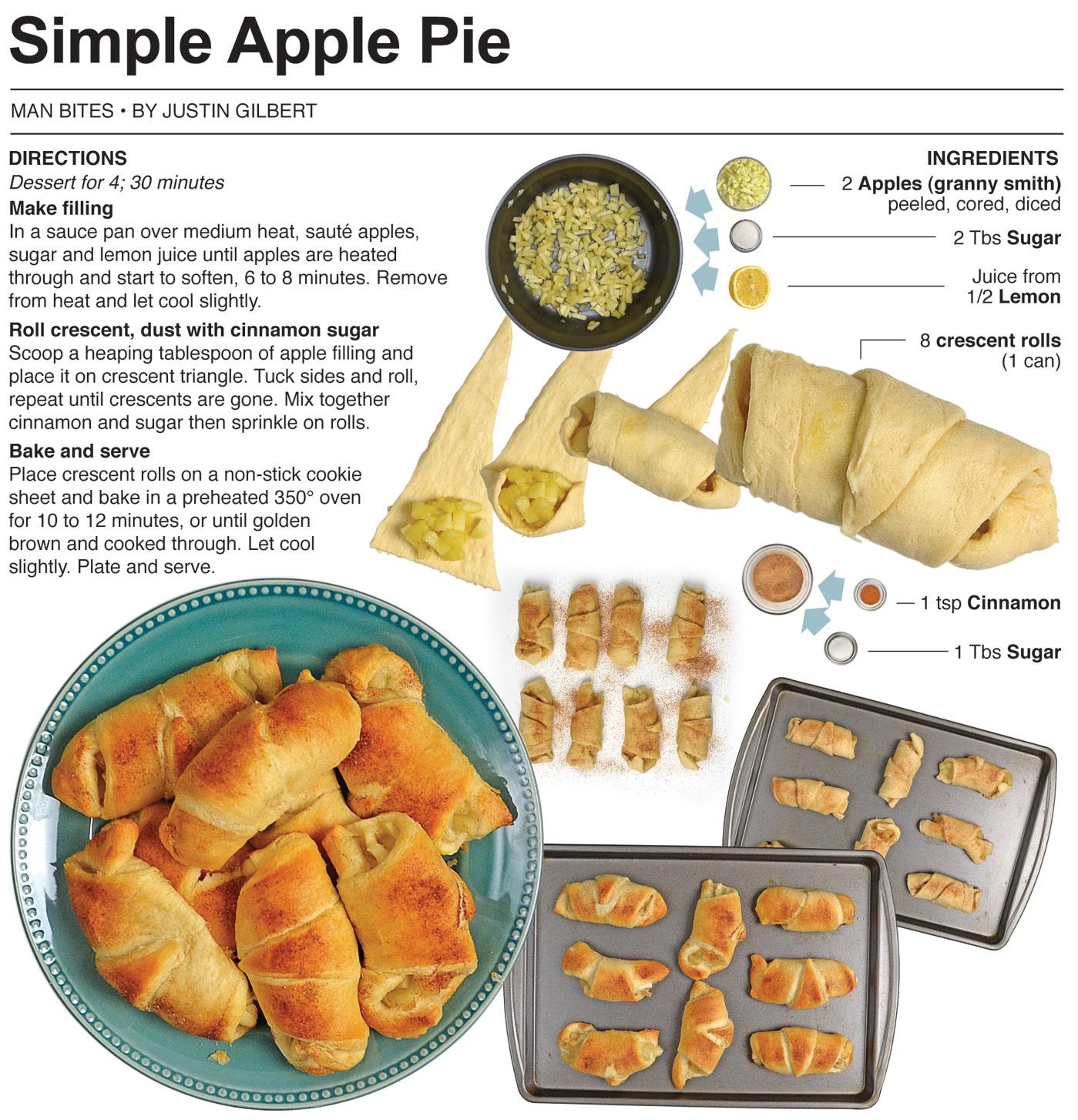 Simple Apple Pies