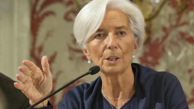Η επικεφαλής του ΔΝΤ Κριστίν Λαγκάρντ καλεί για τερματισμό του ορίου χρέους της ΕΕ