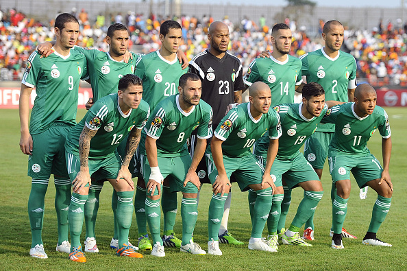ملخص مباراه الجزائر وتنزانيا 7-0 بتعلق حفيظ دراجي