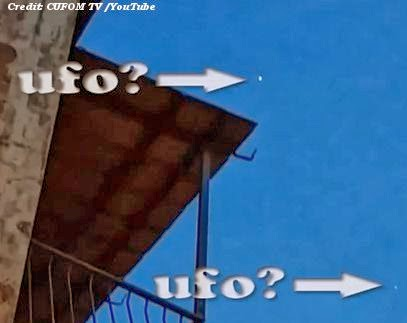 Witnesses Capture UFO on Video in Rome 2-8-14