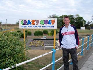 Crazy Golf in Skegness, Lincolnshire