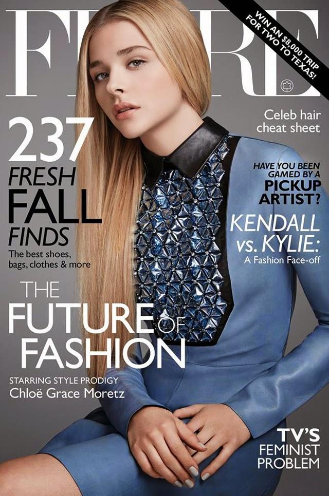 Chloe Grace Moretz Flare Magazine