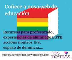 Web de educación Nós Mesmas:
