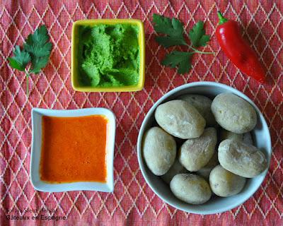 pommes de terre sauce espagnole