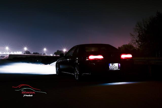 Honda Prelude V, popularne auta, fotki nocą, ciekawe samochody