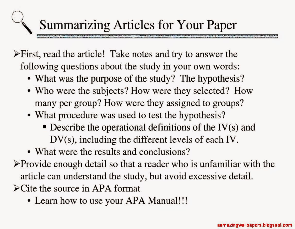 what is the apa style for writing a research paper