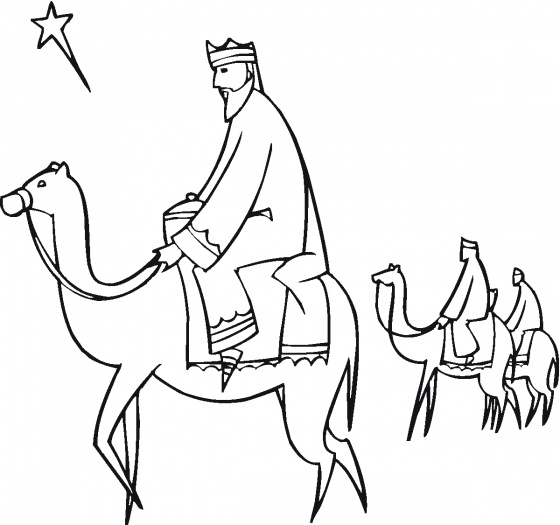 Camel Coloring Sheet Education For Free