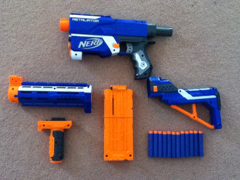 outback nerf nerf elite retaliator review 15m aussie version. Black Bedroom Furniture Sets. Home Design Ideas