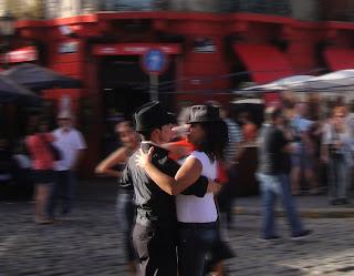 Street Dancers, La Boca, Buenos Aires, Argentina