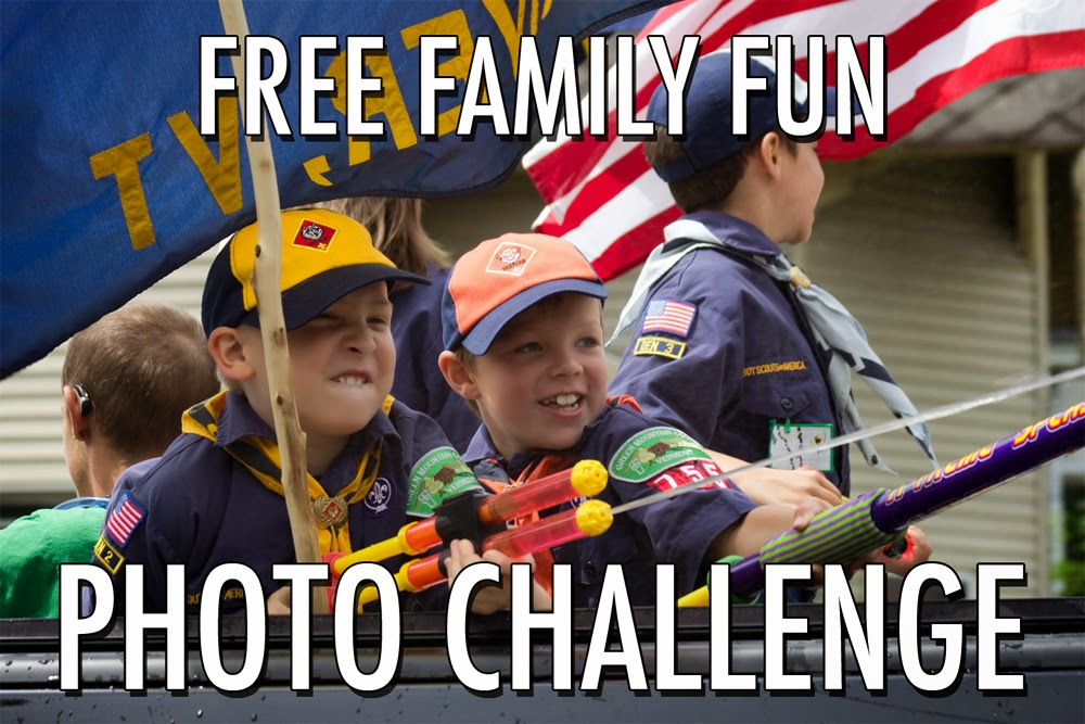 A little photo challenge to make any family's Fourth of July outings a little more fun!